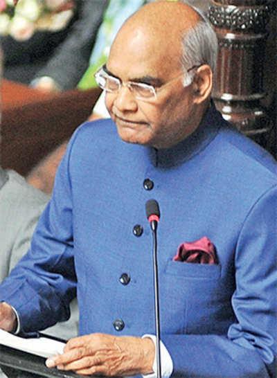 President Ram Nath Kovind, not the Congress, spoke about Tipu Sultan's heroism
