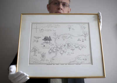 Winnie the Pooh map sells for record USD 570,000, sets new world record
