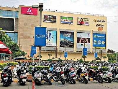 Park for free at malls, multiplexes