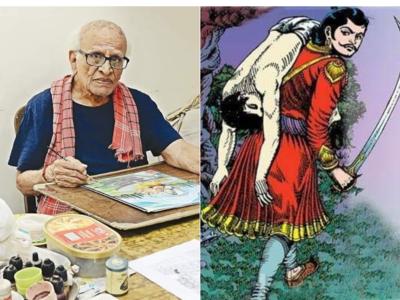 Iconic Chandamama illustrator KC Shivshankar passes away, aged 97