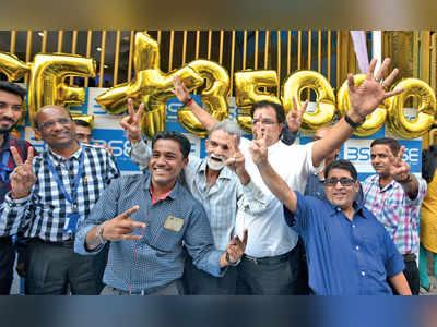 Sensex smashes past 35,000-mark