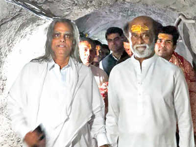 Rajinikanth's annual pilgrimage takes him to Jammu