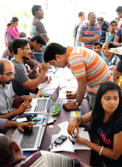 Whitefield techies look to ballot box to solve woes