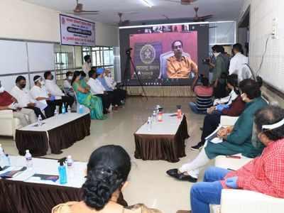 CM Uddhav Thackeray inaugurates COVID-19 treatment facilities in Dombivli, Kalyan