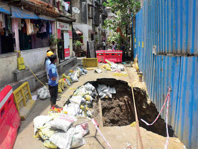 Builder fined Rs 22 lakh for causing road cave-in
