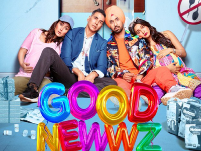 Good Newwz: Akshay Kumar drops new poster; gives glimpse into 'goofed-up lives of the Batras'
