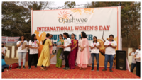 Students participate in 'Run for Her' marathon in Bhubaneswar