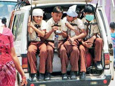 70% school vans illegal: Forget smooth, your kid's ride to school is not even safe