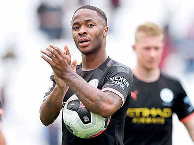Raheem Sterling scores a hat-trick as Manchester City thrashes West Ham United