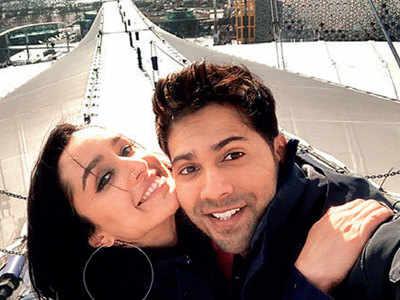 Varun Dhawan and Shraddha Kapoor shoot for a song atop O2 arena in London