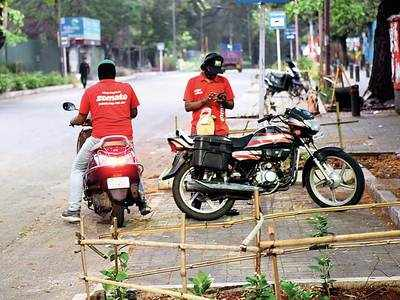 Zomato delivery partners return to work