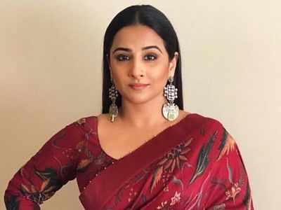 Vidya Balan wraps up the shoot for Shakuntala Devi biopic