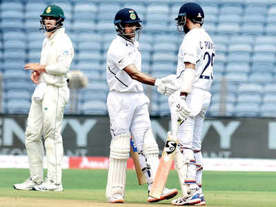 First-class cricket has helped him a lot: Cheteshwar Pujara on Mayank Agarwal scoring another ton