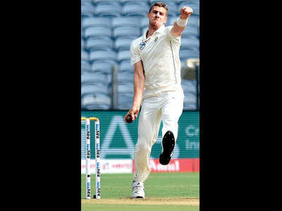 India keeps South Africa debutant Anrich Nortje wicketless