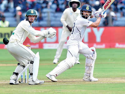 India vs South Africa 2nd Test: Virat Kohli slams his highest Test score