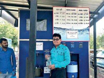 Taste the blunder: Red-tapism leaves water ATMs high and dry, 7 out of 14 are non-functional