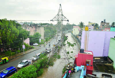 Not just BBMP and BWSSB, Blame Bescom too for...Floody nuisance