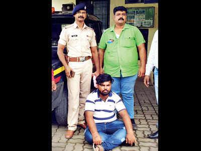 Ravan gang leader arrested in Akurdi by anti-gunda squad