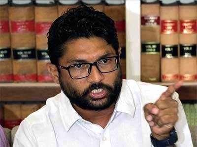 Vadgam MLA, Dalit leader Jignesh Mevani detained at Jaipur international airport