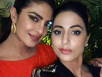 Hina Khan: Priyanka Chopra is the best version of my dream self in the future