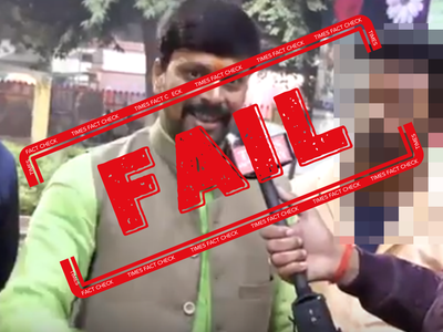 Fake alert: Video of BJP critic passed off as BJP-RSS supporter threatening protesters
