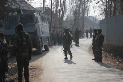Jammu and Kashmir: Five terrorists killed in encounters in Budgam, Baramulla