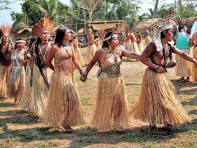 Indigenous tribes pray for Amazon