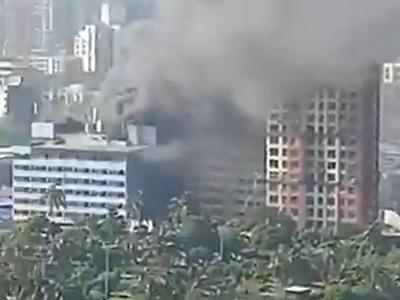 Mumbai: Fire breaks out in Oshiwara building
