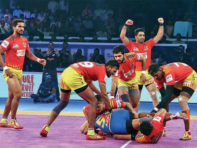 Gujarat Fortunegiants beat UP Yoddha 38-31