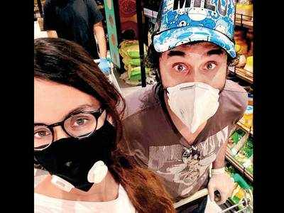 Siddhanth Kapoor, who went grocery shopping with sister Shraddha Kapoor recently, admits that the siblings get to decide what their family eats