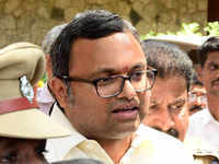 SC hearing for Karti Chidambaram's travel abroad plea underway