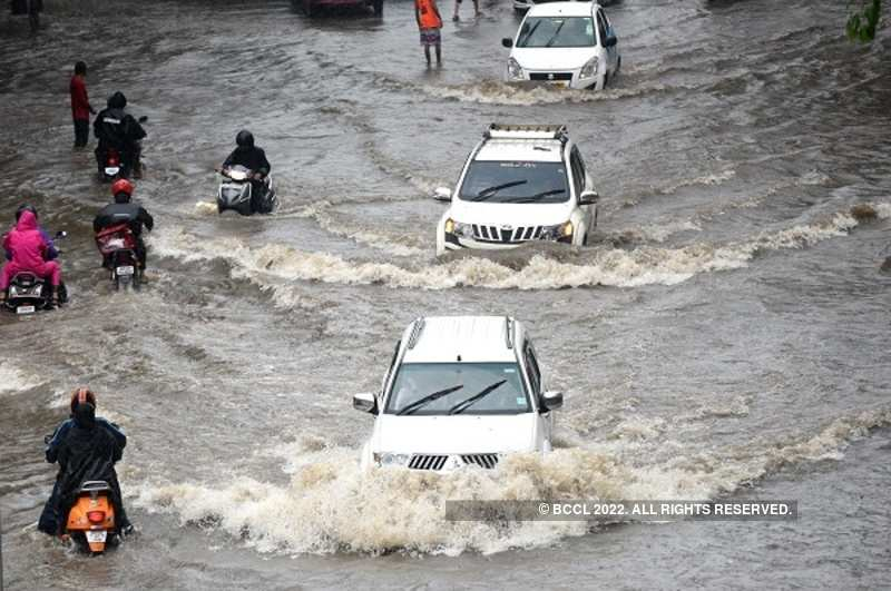 Heavy rains in Mumbai is becoming a trouble for residents