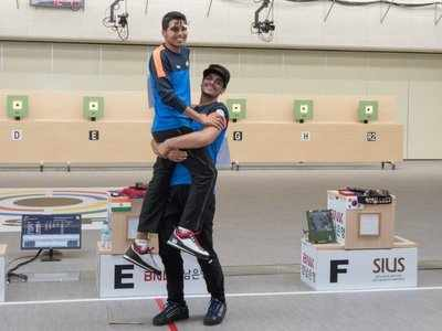 52nd ISSF World Championships: Saurabh Chaudhary tops junior 10m air rifle, bronze for Arjun Singh Cheema