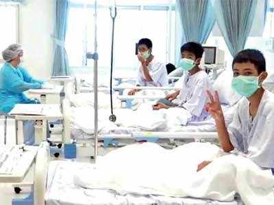 Thai boys lost 2 kg on avg: hospital