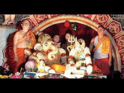 Pandal to not host Sharada-Ganpati to avoid crowding