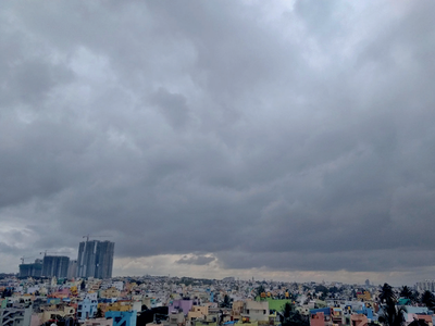 Bengaluru: Cloudy, with a chance of rain over next couple of days