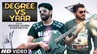Latest Haryanvi Song 'Degree Vs Yaar' Sung By Masoom Sharma