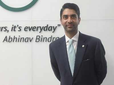 Shooting's highest honour for Abhinav Bindra, first for an Indian