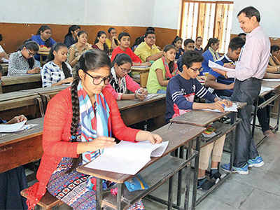 State Board exams: Easy papers bring cheer to students on Day 1