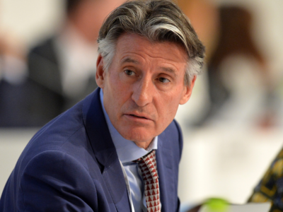 IAAF president Sebastian Coe says the sports governing body will apply its testosterone regulations to 1,500 meters