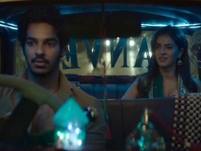 Khaali Peeli teaser: Ishaan Khatter, Ananya Panday take the audience on a mad ride