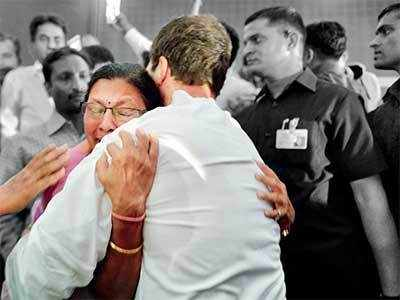 In the arms of hope: City professor Ranjana Avasthi asks Rahul Gandhi's help to retire with respect