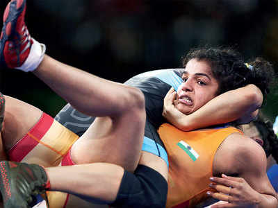 Sakshi Malik, Seema Bisla, Kiran reinstated to national camp by Wrestling Federation of India