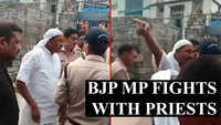 BJP MP Dharmendra Kashyap allegedly abuses temple priests, video goes viral