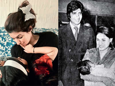 Twinkle Khanna posts an adorable click with daughter Nitara, while Amitabh Bachchan goes into flashback mode on wife Jaya Bachchan's birthday