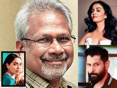 Mani Ratnam, Aishwarya Rai, Vikram reunite for a multi-lingual fictional historical, also starring Sobhita Dhulipala