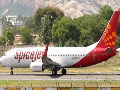 Spicejet flight from Chennai to Goa makes emergency landing