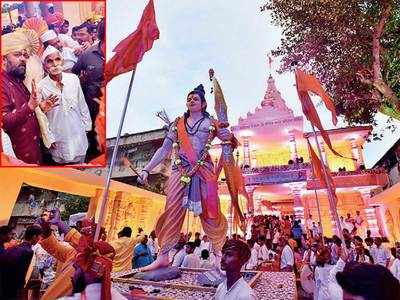 India suffering from Gandhi-ism: Bhide at Ram Mandir pandal