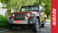 Mahindra Thar first drive impression