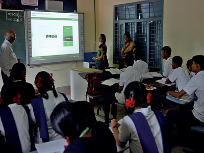 Government schools in Domlur get a tech upgrade